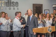 Florida Governor Rick Scott Recognized Paradise Exteriors with The Governor's Business Ambassador Award
