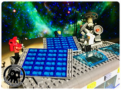 39-1 Darker Greebling and Solar Panels (captainmutant) Tags: afol classic space lego ideas legospace minifig minifigures moc sciencefiction scifi exploration legography brickography photography toy