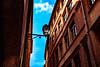 Up There (Oussama Ezzayer) Tags: lyon france vieuxlyon lamp