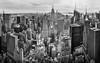 Manhattan on a Winters afternoon (beninfreo) Tags: newyork manhattan usa topoftherock rockefellercentre rockefeller empirestatebuilding brooklynbridge lowermanhattan chryslerbuilding canon canon5d3 photomontage blackandwhite