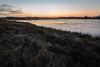 Het laatste licht over een ijskoud Kloosterveld (Pieter ( PPoot )) Tags: kloosterveld koud ijs zonsondergang licht