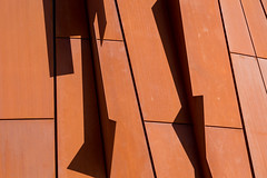 Pioneer Village TTC 2 (josullivan.59) Tags: 2018 artistic canada canon6d ontario ttc toronto university york abstract architecture backlit detail evening geometric goldenhour minimalism orange outdoor outside shadow telephoto texture wallpaper
