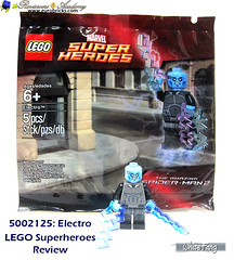A nice promotional polybag for the Amazing Spiderman 2 (WhiteFang (Eurobricks)) Tags: lego marvel superheroes electro spiderman ultimate movie mcu sony blockbuster electricity polybag promotional