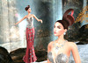 LuceMia - JUMO & BAXE (MISS V♛ ITALY 2015 ♛ 4th runner up MVW 2015) Tags: yinyangevent sl secondlife jumo baxe fashion poses beauty blog formal hud colors texture hair ria celestial gown orchid elegant exclusive female set mesh creations dress models lucemia