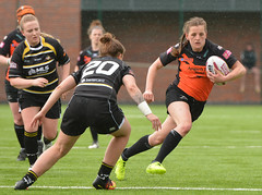 Fast And Loose (Feversham Media) Tags: womenssuperleague castlefordtigerswomenrlfc yorkcityknightsladiesrlfc amateurrugbyleague rugbyleague york yorkstjohnuniversity northyorkshire yorkshire sportsaction katiehepworth