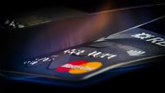 Cut and Burn (WibbleFishBanana) Tags: plastic credit card rbs royal bank scotland mastercard visa cut scissors burn flame fire blade melt
