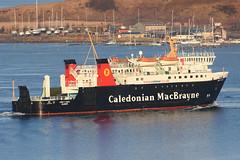 MV Lord of the Isles . Oban - 20-03-18 (MarkP51) Tags: mvlordoftheisles oban caledonianmacbrayne roro ferry ship boat vessel water nikon d7100 d7200 sunshine sunny maritimephotography