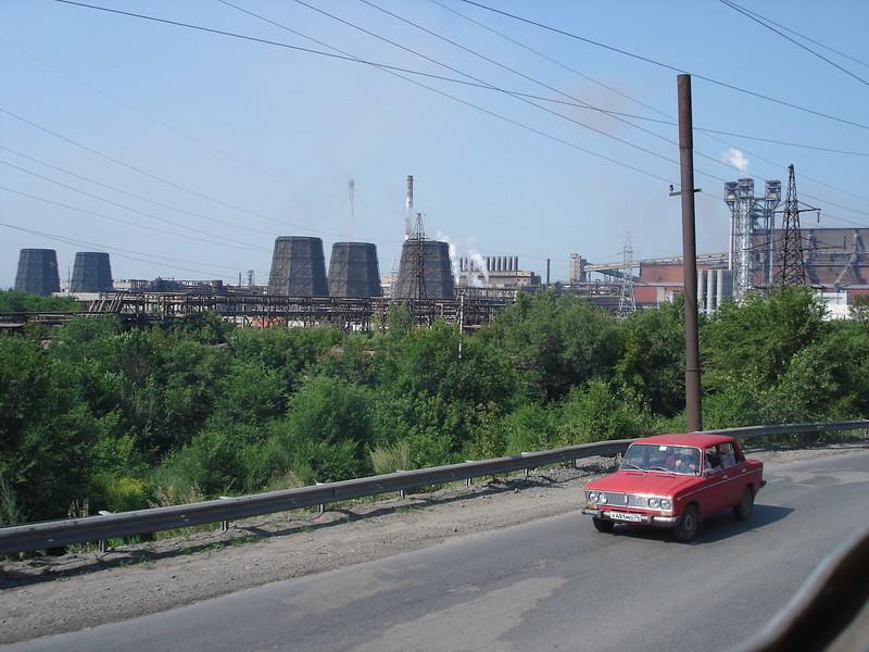 фото: Завод в Магнитогорске