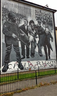Civil Rights Mural, Derry, Northern Ireland