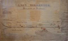 Birdbrook (P Way Owen) Tags: birdbrook signalbox diagram