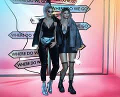 Where do we go.. (Anuska L.) Tags: friends couple neon girls 3d 3dpeople 3dgirls 3dgirl 3design 3dart 3dfashion digital digitalart digitalphotography digitalfashion fashionblog fashionvictims femme fashionista fashionblogger fahionstyle femalefashion feeltherush secondlife sl taketomiwest ison lowen versov momento pseudo minimal tentacio meisu momochuu c´estlavie jeunebyrowne evani kunst sys okuma collabor88 kustom9 limit8 shinyshabby