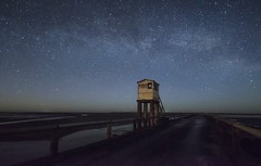 Holy Stars (Captain Nikon) Tags: northumberland holyisland lindisfarne causeway northeast england uk greatbritain nikon verylongexposure longexposure stars milkyway space nightsky astrophotography galaxy