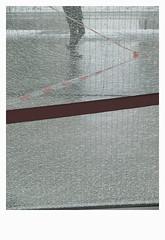[ B L E U  /  B L A N C  /  R O U G E ] (michelle@c) Tags: urban cityscape city architecture abstraction glass broken tape walker street snow troiscouleurs blue white red blau weiss rot cinematographic tribute mmmkk parisxiii 2018 michellecourteau