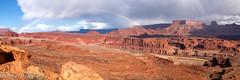 Beauty After the Storm (OJeffrey Photography) Tags: monumentbasin rainbow storm sunshine coloradoriver panorama pano redrocks ut utah canyonlandsnationalpark nikon d850 ojeffreyphotography ojeffrey jeffowens