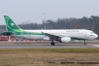 YI-ARB - Airbus A320-214 - Iraqi Airways @ FRA