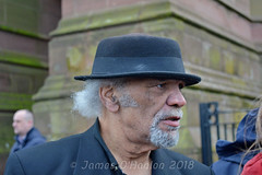 Paul Barber (James O'Hanlon) Tags: sir ken dodd sirkendodd kendodd funeral cathedral anglican liverpool liverpoolcathedral anglicancathedral stars knotty ash knottyash squire legend comedy