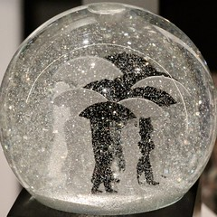 Snow Globe (Read2me) Tags: tcfe pree cye white black bw round glass circle umbrella storybookotr ge challengeclubwinner