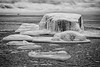 Iceberg (Topolino70) Tags: canon600d ice berg sea water rift cone bw blackwhite