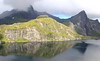 Lofoten, More on the Lakeside (Eye of Brice Retailleau) Tags: angle beauty composition landscape nature outdoor paysage perspective scenery scenic view extérieur ciel sky backpacking earth mountain mountains travel vista reflection reflet mirror colourful colours clouds light europe norway norge norvege water waterscape lake eau montagne lac calme lofoten hiking panorama
