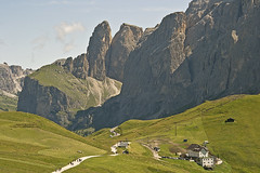 People are small (Mizar Settantuno) Tags: dolomiti valdifassa ngc europe green holiday italia italy landscape light montagna mountain nature nikkor nikon people photo photography photos picture pictures rock stone summer travel
