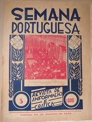 """Revista de Informação e Crítica """"Semana Portuguesa"""". (ACMateus) Tags: antiguidades coleccionismo velharias revista"""