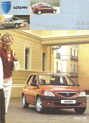 Dacia Logan (Hugo-90) Tags: renault ads advertising brochure car auto voiture automobile voiturette dacia logan