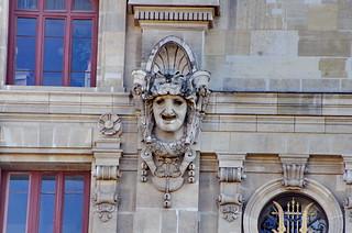 604 Paris en Février 2018 - la façade arrière de l'Opéra