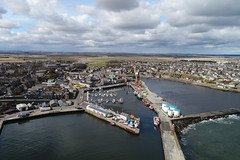 Wick Harbour (North Ports) Tags: caithness highland scotland aerial drone uav dji wick harbour marina
