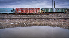 Hoppers by the Flood Wall (Mobilus In Mobili) Tags: missouri stlouis unitedstates us