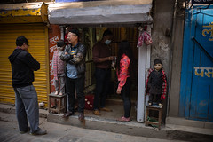 Having a chat (wilsonchong888) Tags: leicamsummilux35mmf14asphii m10 leica streetphotography shop colour nepal kathmandu people