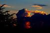 Nuages en feu (Pi-F) Tags: nuage soleil lumière orange rouge bleu ciel soir provence