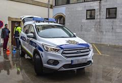 El nuevo vehículo patrulla sustituye al anterior, que ha sido retirado tras haber cumplido su ciclo vital de servicio.