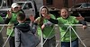 High Fives (Scott 97006) Tags: cheers girls run race highfive