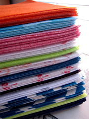 Pile (Patchwork Daily Desire) Tags: fusible pellon memoryquilt tshirts piecing patchwork scraps patchworkdailydesire binding batting blocks crafts cozy red orange green blue block sew sky