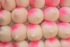 Longevity - Peach Buns (CharlieBrown8989) Tags: party people food fruits children interestingness outdoor n entertainment drinks buns macros charliebrown8989sgourmet flickys excellencefood