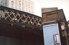 Mishmosh (NyLon Annie) Tags: reflection buildings confusion