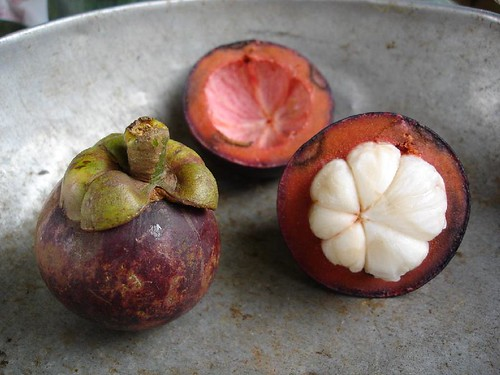 Mangosten - very good and healthy fruit