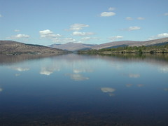 Loch Arkaig (ShirleyGrant) Tags: scotland loch locharkaig lochaber water reflection cloud
