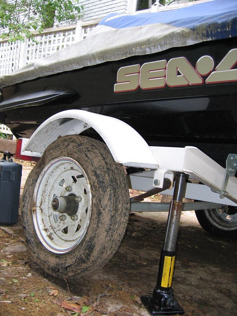 SeaDoo Flat Tire