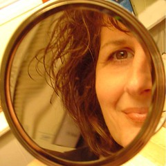 small mirror (sharon twiss) Tags: squaredcircle almostsquaredcircle mirror selfportrait
