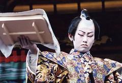Kabuki actor 5 (転倒虫) Tags: people japan nagahama kabuki boy actor