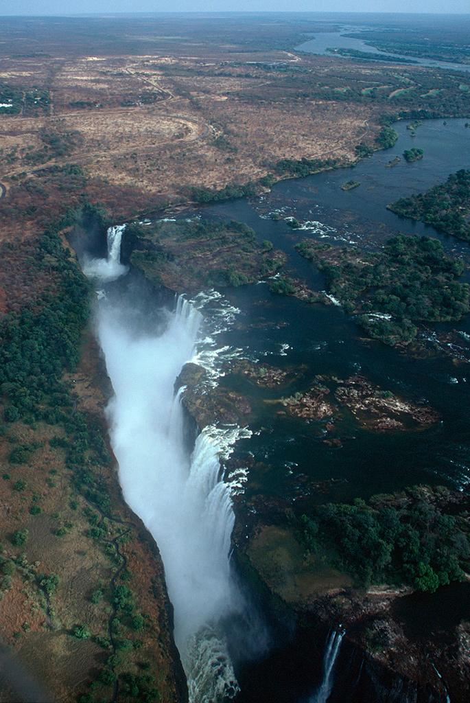 Africa en fotos panoramicas y aéreas.