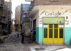 Google finally in Cairo! (mnadi) Tags: sign shop topv2222 google funny joke topv1111 internet topv444 egypt communication topv5555 cairo network topv9999 topv3333 topv4444 connectivity  topv8888 topv6666 topv7777 maintainance  topv20000 topv10000 topv12000 topv13000 topv15000 topv11000  netpop