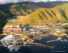 diablo canyon nuclear power plant (emdot) Tags: ocean energy power pacific nuclear powerplant slocounty nuclearpower avilabeach flyingwithvisionaerie thanksva slofromtheair diablocanyon utataview