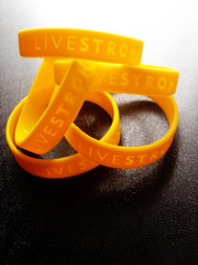 LiveSTRONG (Blackpearlz) Tags: yellow topv111 cancer wristband flickrsoupforthesoul livestrong fsftsblog