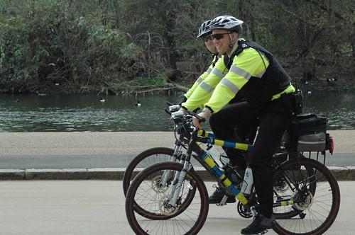 Policia de Bicicleta