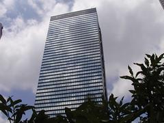 and beyond (BergMattias) Tags: blue windows sky reflection building window glass japan clouds geotagged tokyo shinjuku urbannature geo:lat=35690716 geo:lon=13969467