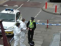 Forensics Scene - by Andrew Mason