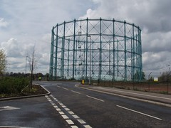 Granton gas works (kyz) Tags: architecture scotland edinburgh lothians gasometers granton