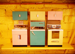 appliances (mjanean) Tags: midcenturymodern house kitchen toys dollfurniture